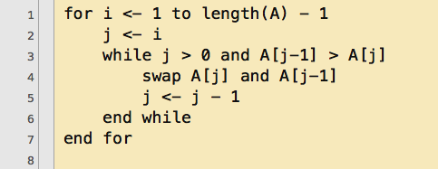 selection_sort_pseudocode